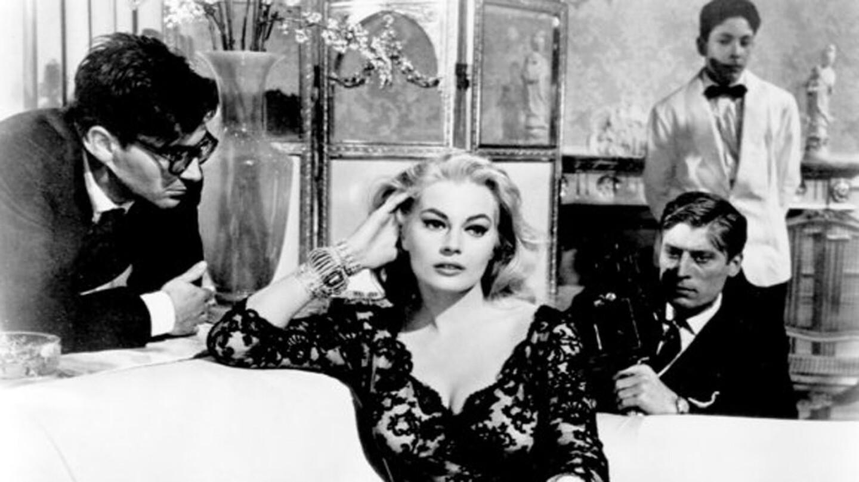 Anita Ekberg in 'La Dolce Vita,' a 1960 Federico Fellini film.