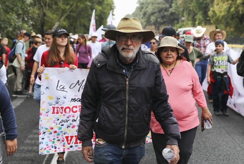 MEXICO-VIOLENCIA-MARCHA