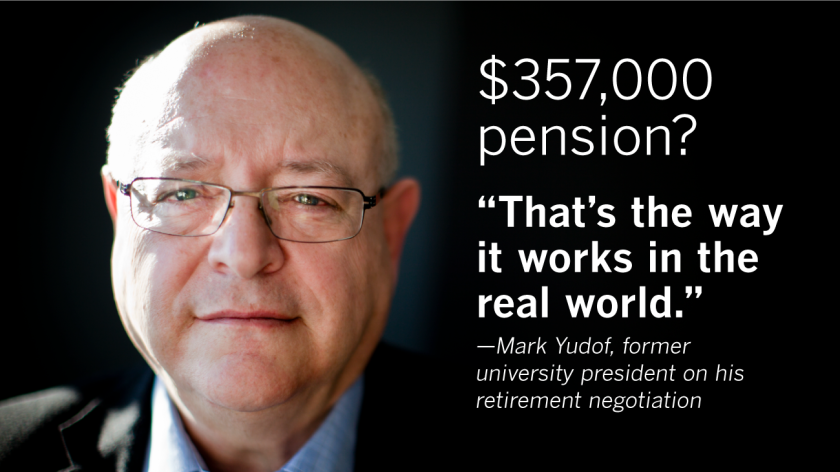 UC is handing out generous pensions, and students are paying the