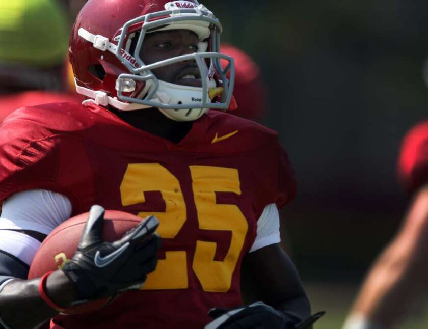 Silas Redd is ready to make his season debut with the Trojans.