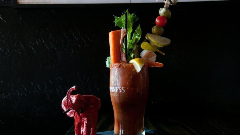 Small Bar's Bacon Bloody Mary. Courtesy photo (Michael Raymond)