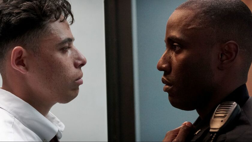 Anthony Ramos and John David Washington appear in <i>Monsters and Men</i> by Reinaldo Marcus Green,