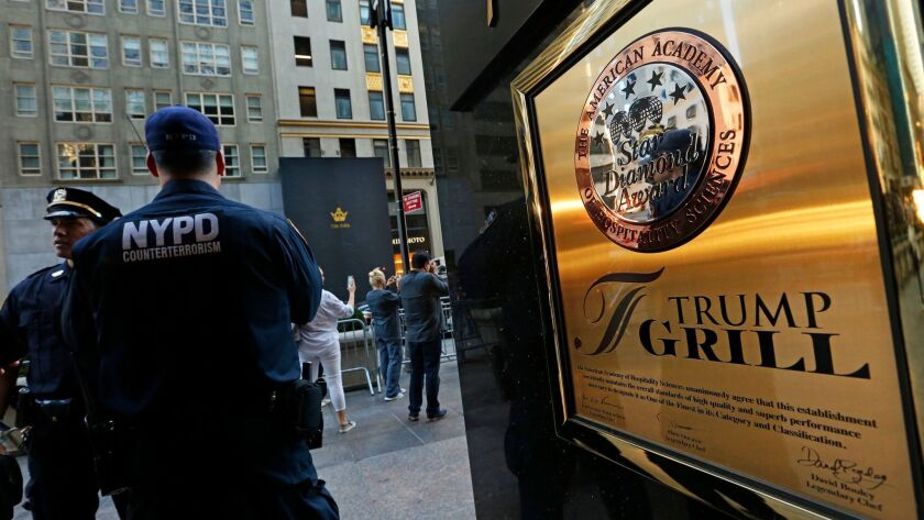 Trump Grill, located inside Trump Tower, could possibly be the worst restaurant in America, according to Vanity Fair.