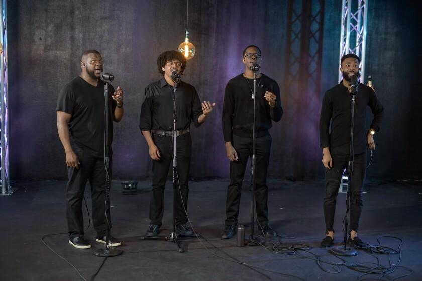 Kings Return was one of the featured musicians at this year's SummerFest opening concert.