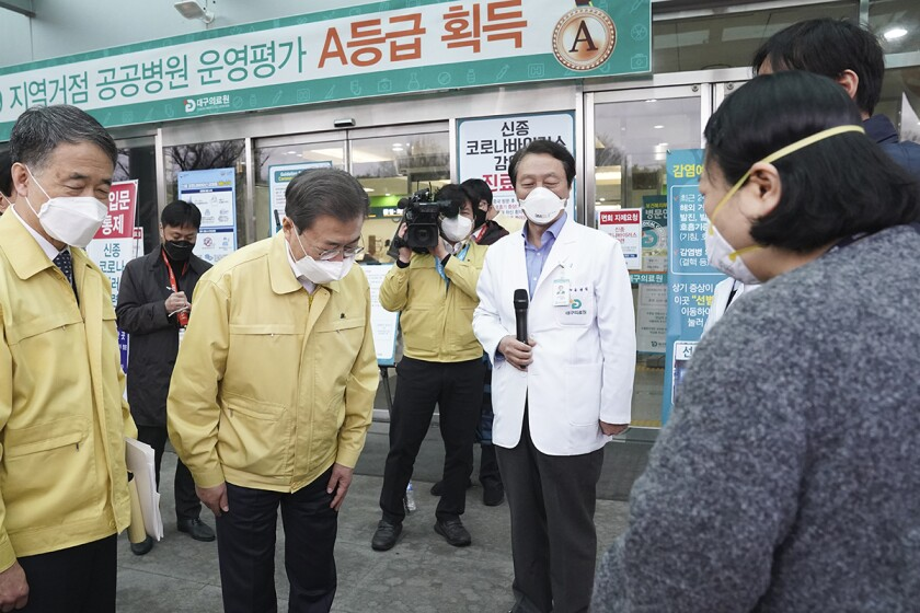 Concern in South Korea as Covid-19 spreads