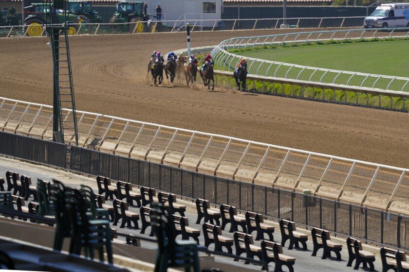 Opening Day at the Del Mar Race Track 2020.