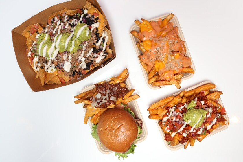 Asada fries are a popular dish from Chicana Vegana.