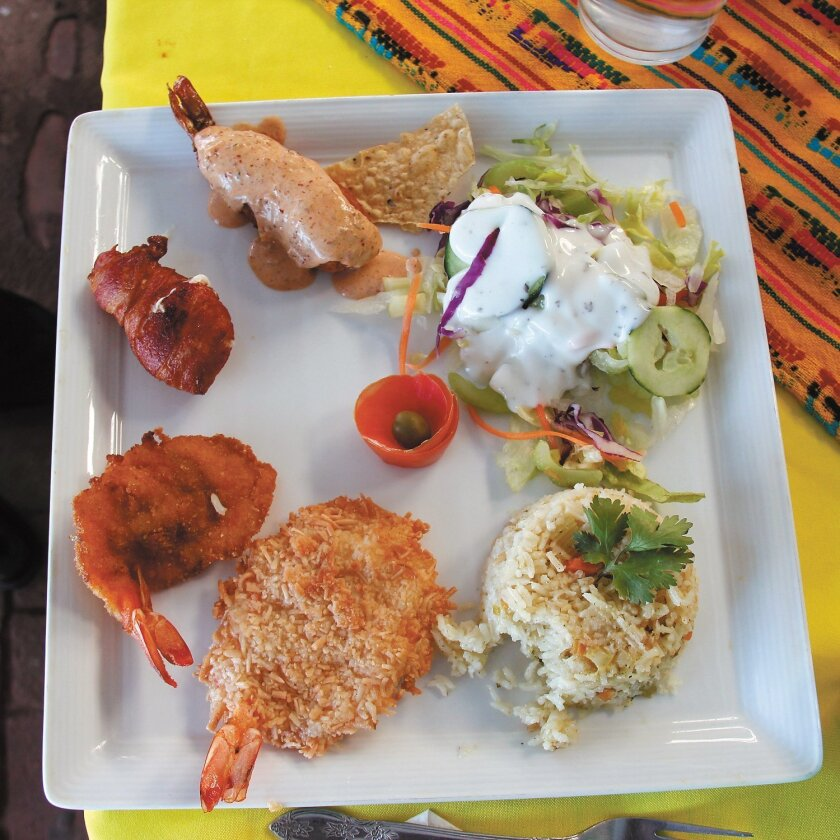 Seafood, especially shrimp, is delicious and generally inexpensive in San Felipe.