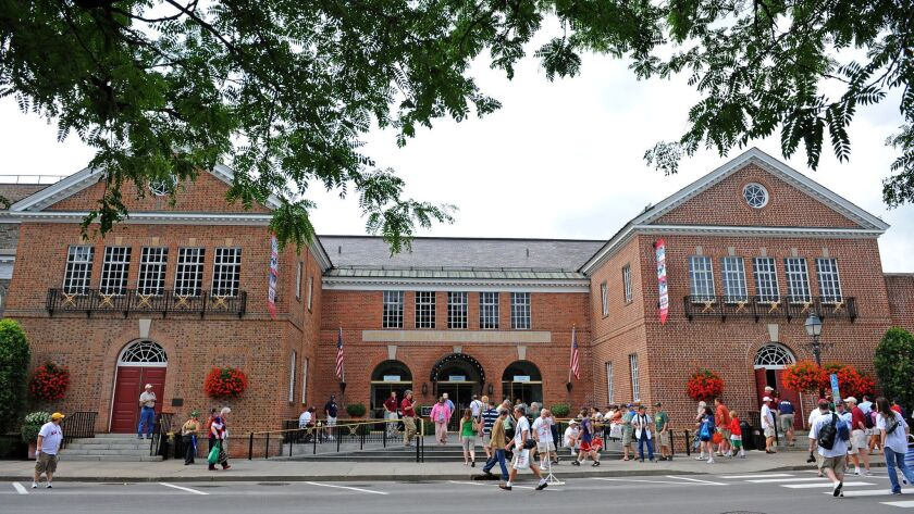 The National Baseball Hall of Fame in Cooperstown, N.Y.