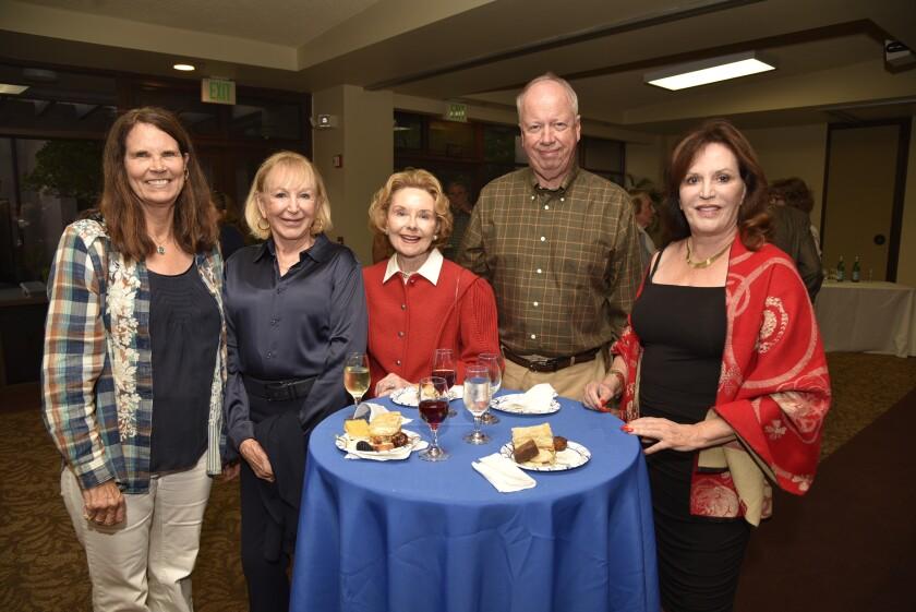 Kim Dorey, Jenny Freeborn, Kayda and David Johnson, Nena Jo Haskins