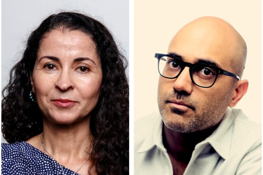 Authors Laila Lalami and Ayad Akhtar