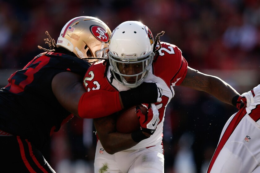Cardinals' Chris Johnson is out for season