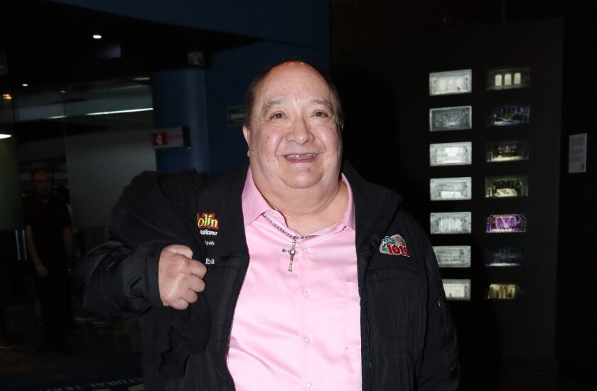 El comediante Luis de Alba tiene problemas de salud.