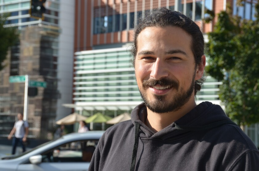 Justin Campbell, an Amazon data engineer in Seattle, wants the company to become carbon neutral by 2030.