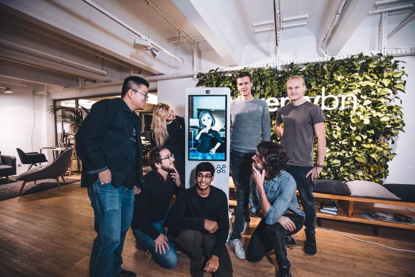 Twenty Billion Neurons team makes avatars targeting retailers and the fitness market