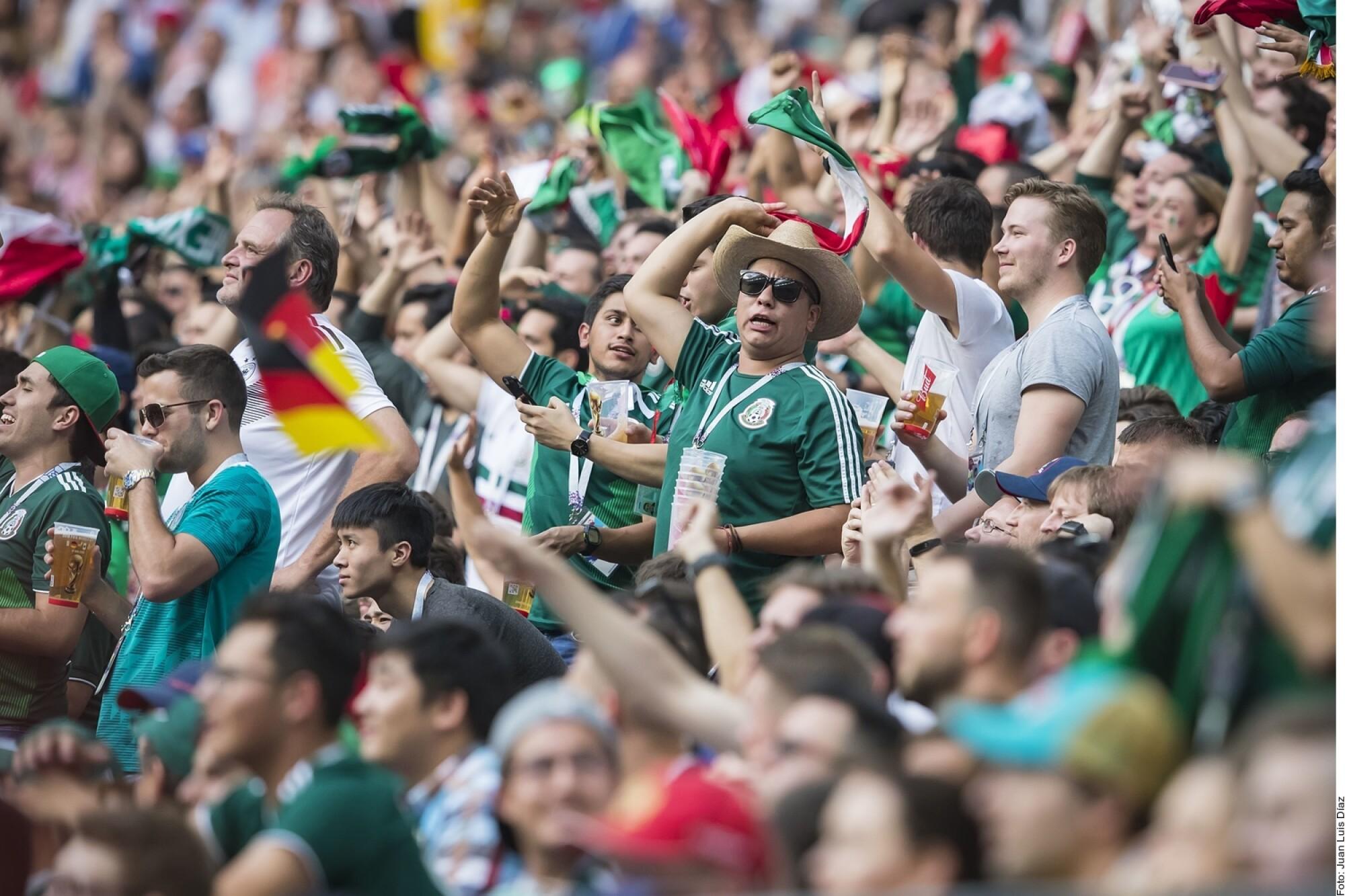 Afición mexicana.
