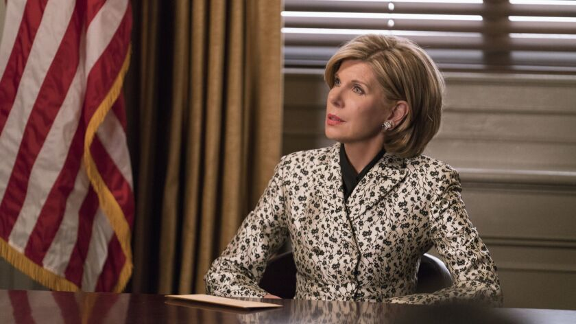 """Henceforth Known as Property"" Ep 104-- Episodic coverage of THE GOOD FIGHT. Pictured: Christine Ba"