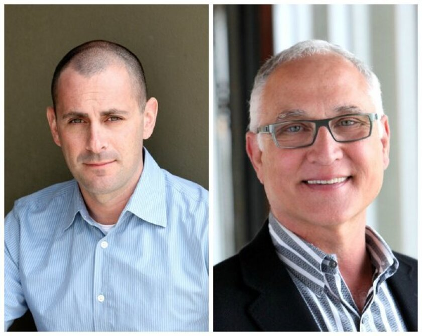 Rich Flier, left, has been appointed president of the advertising and games division at Digital Domain; Terry Clotiaux was named president of its feature film production division.