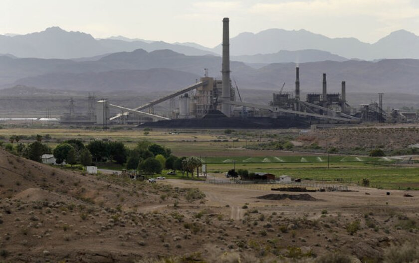 Coal's share of power generation slipping