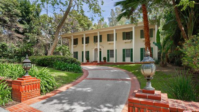 The gracious Southern Colonial in Beverly Hills was built in 1938 and once home to actress Donna Reed.
