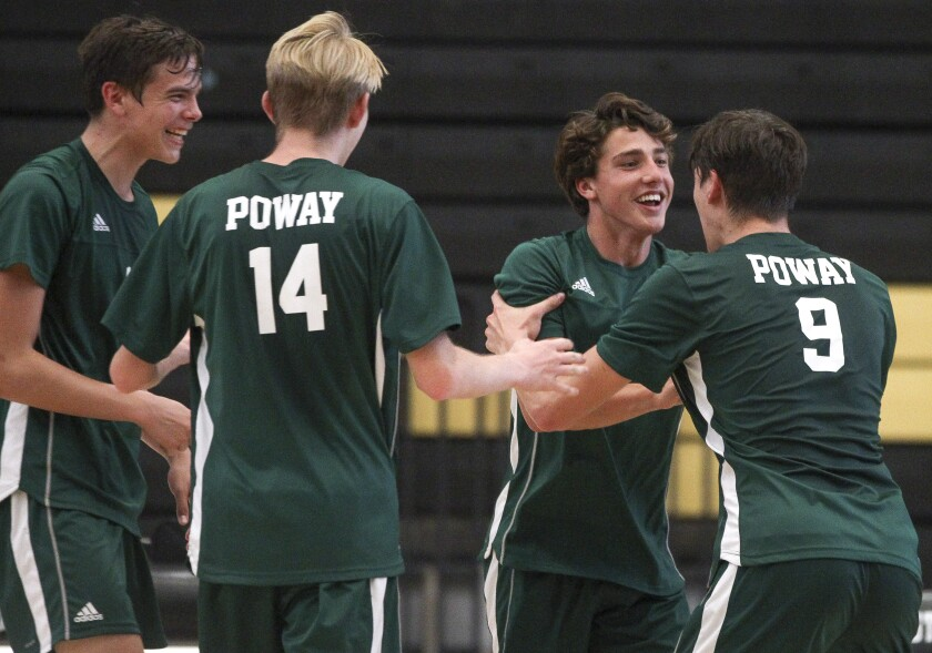 Poway earned the No. 1 seed in Division I for the San Diego Section boys volleyball playoffs that begin Tuesday.