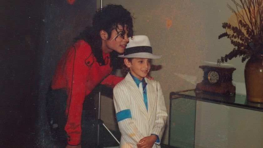 A still from <i>Leaving Neverland</i> by Dan Reed, an official selection of the Special Events progr