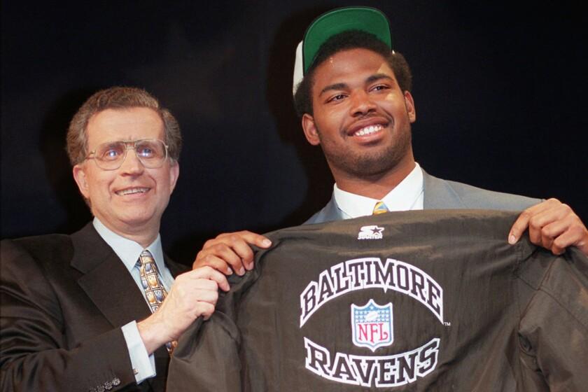 Ravens Draft History Football