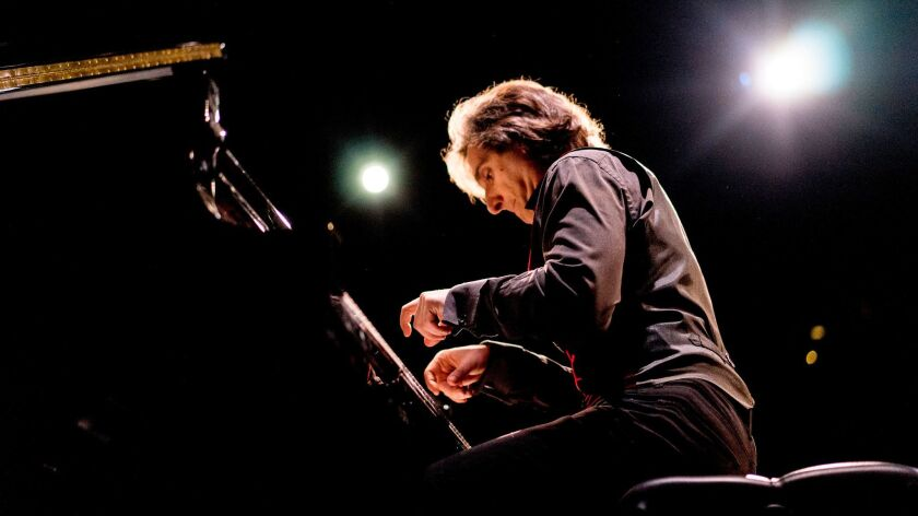 """Hershey Felder in """"Our Great Tchaikovsky"""" now onstage at the Wallis."""