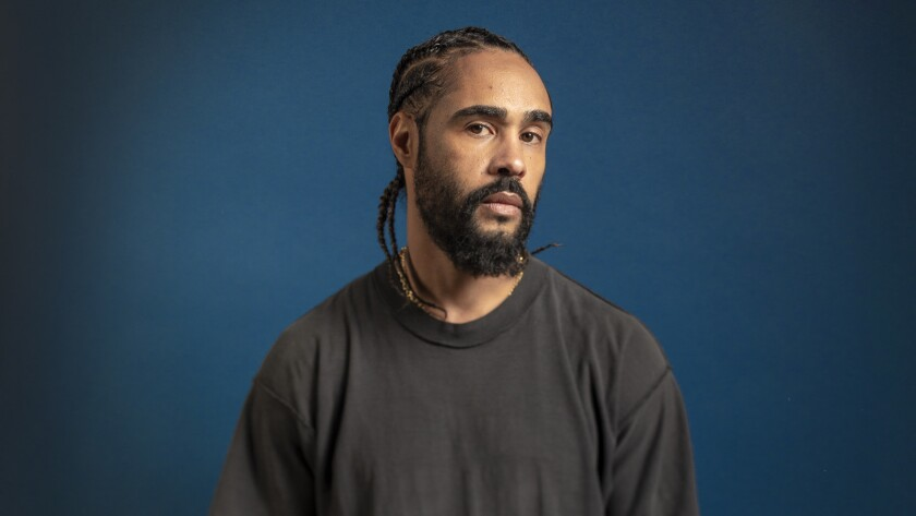LOS ANGELES, CA - OCTOBER 17, 2018 - Jerry Lorenzo, creative director of fashion line Fear of God, p