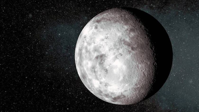 An artist's conception for the planet Kepler-37b.