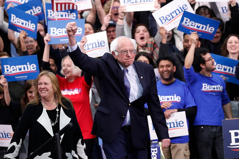 Letters to the Editor: Democrats, Bernie Sanders is your most authentic candidate