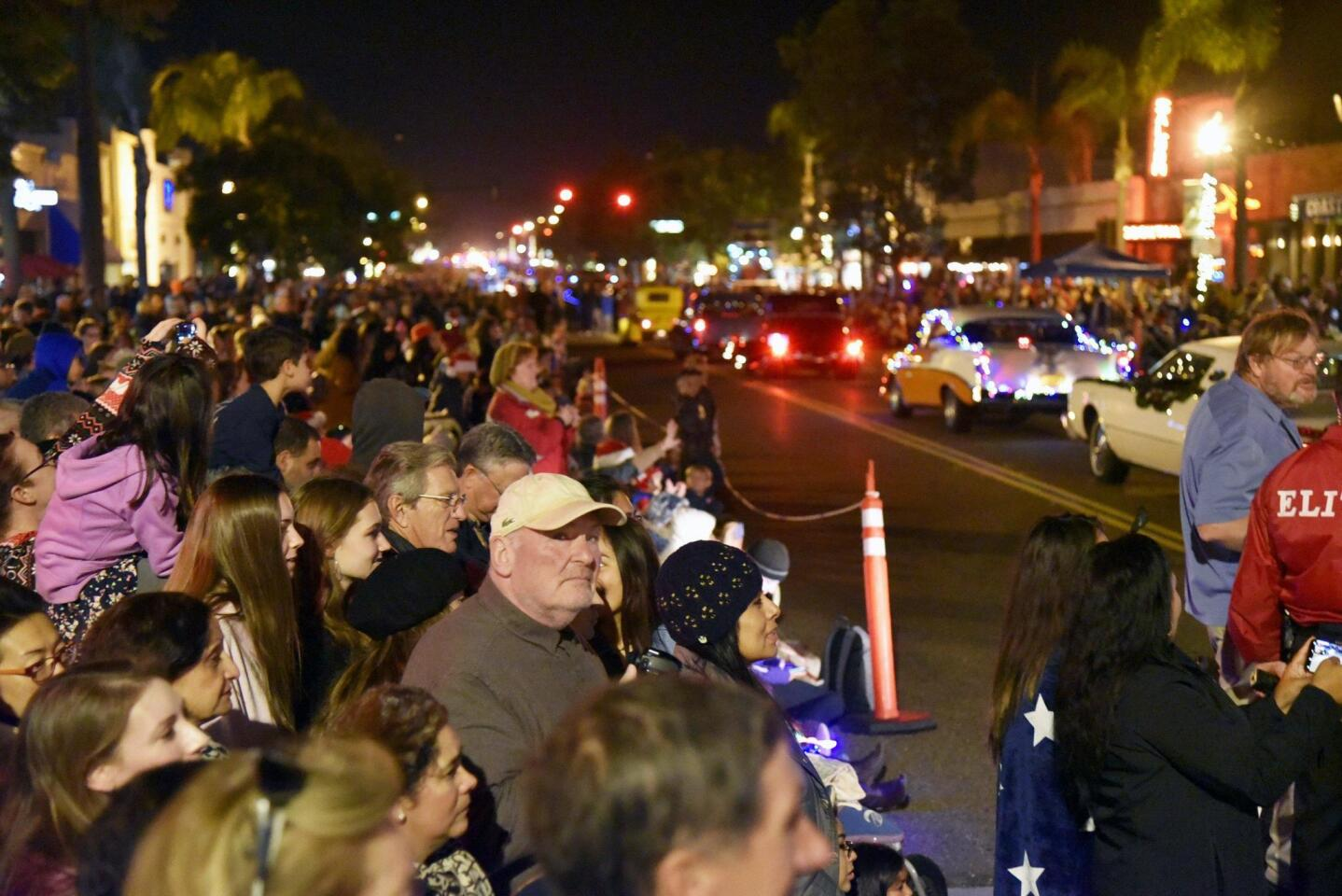 The parade continues to draw large crowds to downtown