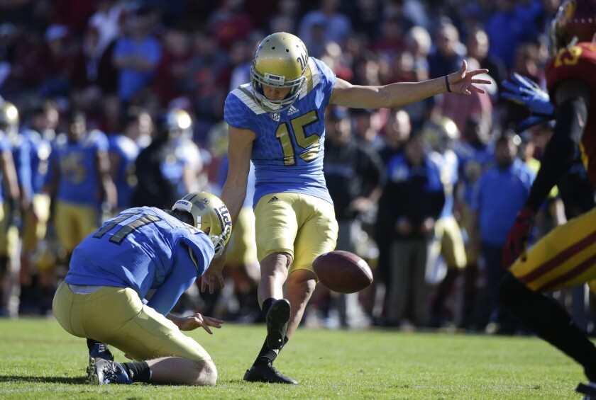 UCLA's Ka'imi Fairbairn wins Lou Groza Award as the nation's top kicker