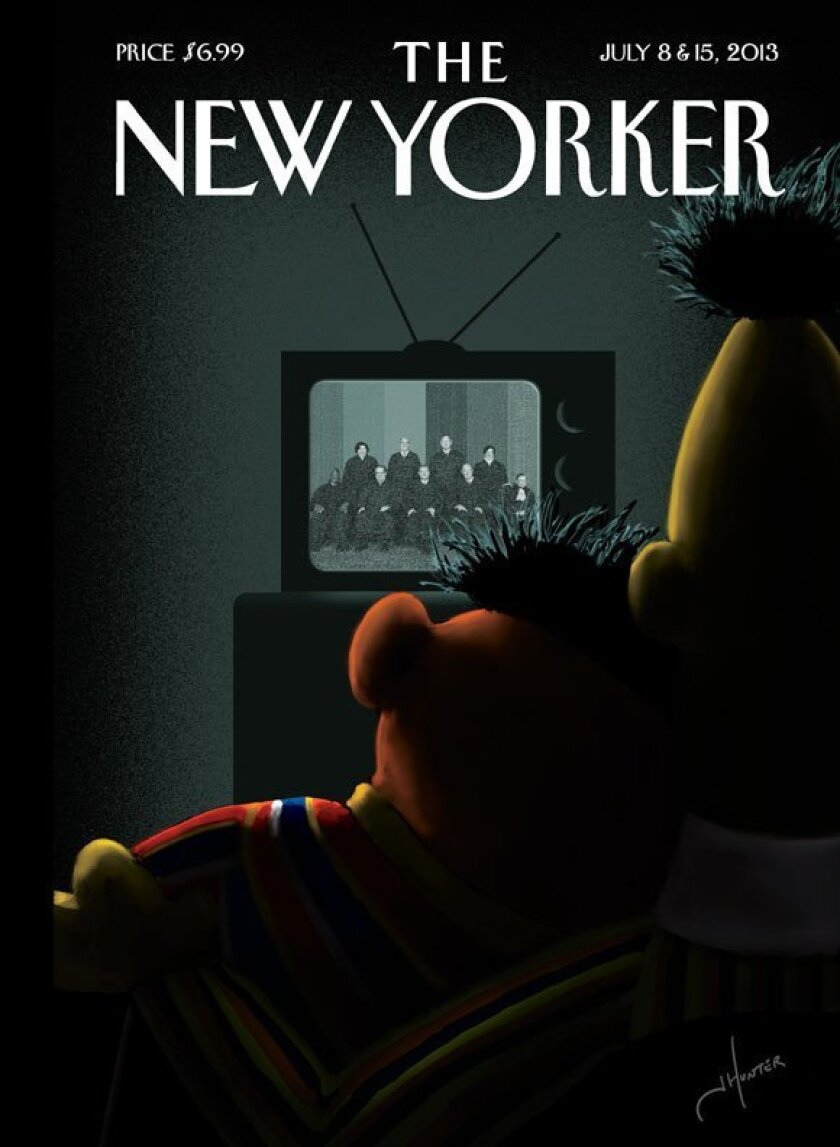 """The next cover of The New Yorker is titled """"Moment of Joy."""""""