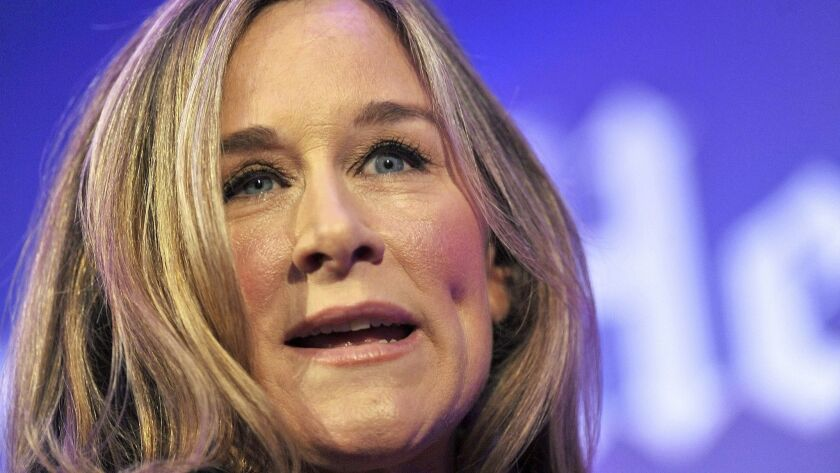 FILE - Burberry Chief Executive, Angela Ahrendts To Join Apple