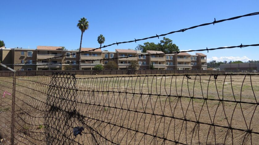 The Springs of Escondido retirement apartments abut a large parcel of city-owned land where a recycled water plant is planned