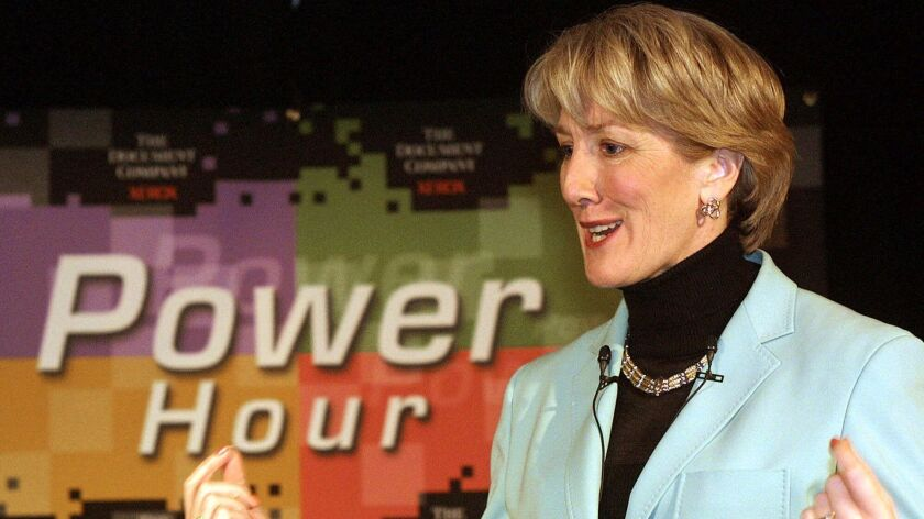 Former Xerox Chair and Chief Executive Anne Mulcahy, shown in 2001, knows the difference between being on a corporate board and having actual power.