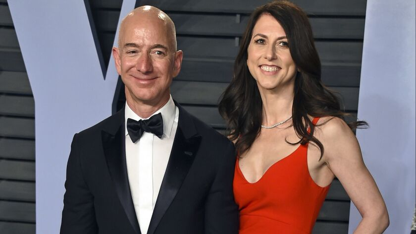 Amazon's Jeff Bezos and his ex-wife, MacKenzie Bezos, finalized their divorce this month. They join the millions of Americans now splitting up in middle age.