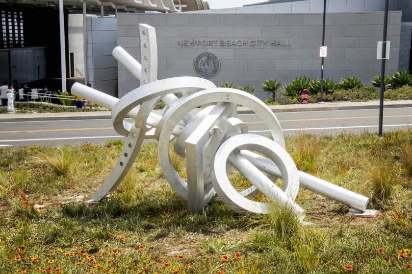 Photo gallery: 10 new sculptures join Newport Beach exhibit