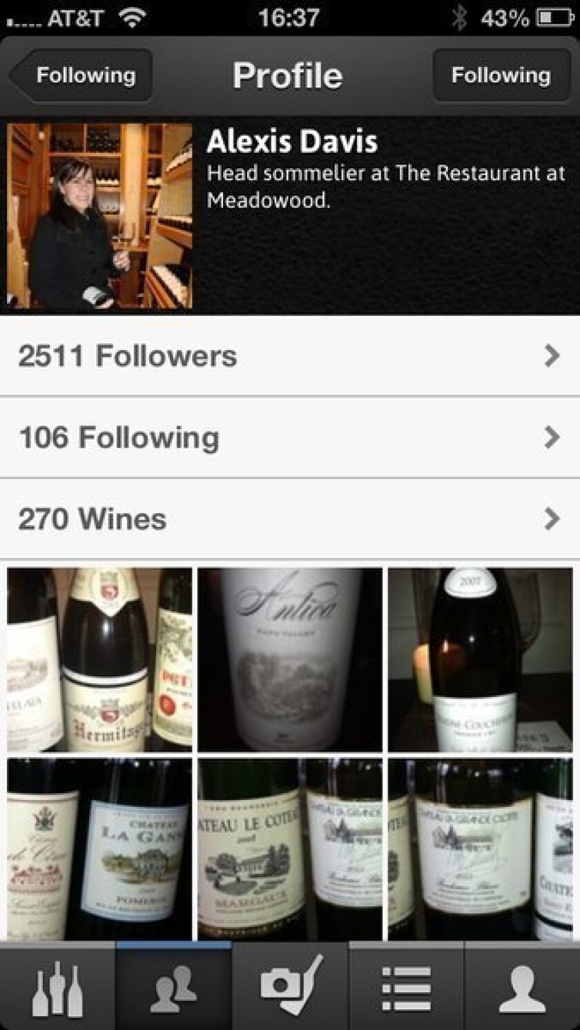 Free app Delectable: Follow a who's who of wine experts