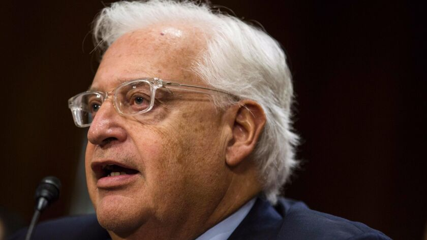 "U.S. Ambassador David Friedman said in an interview with an Israeli news outlet that Israel is ""only occupying 2%"" of the West Bank, which is considered occupied territory by the U.S., Europe and the U.N."