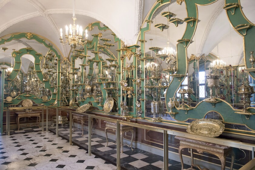 Part of the collection at Dresden's Green Vault
