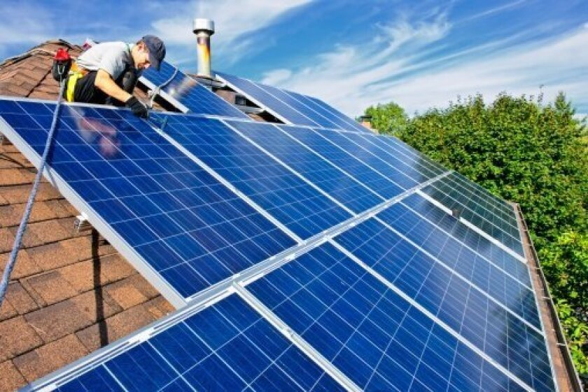 San Diego is a leader in solar panel technology.