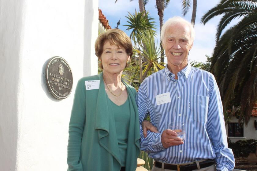 McClintock homeowners and event hosts Alice and Bill O'Brien