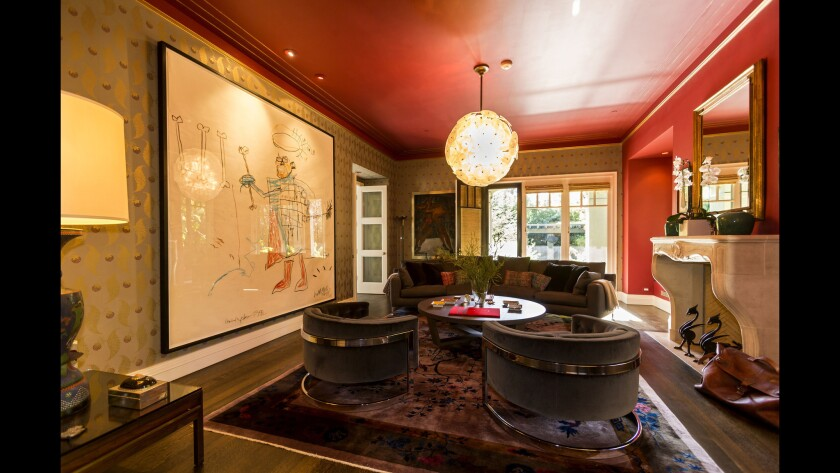Jerome Dahan's home in Santa Monica