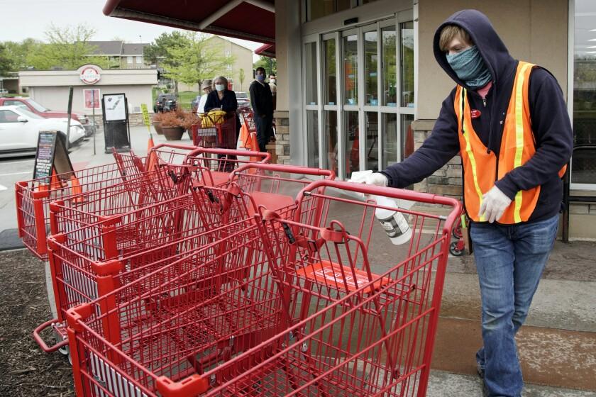 Virus Outbreak Customer Tensions