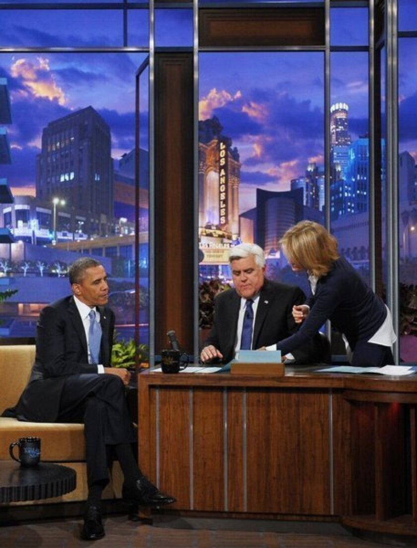 Obama criticizes Russia's new anti-gay law in Leno interview