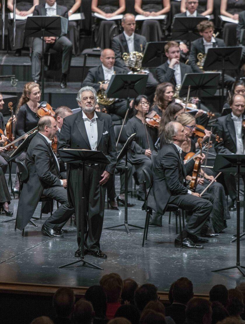 "Plácido Domingo sings ""Luisa Miller"" at the Salzburg Festival."