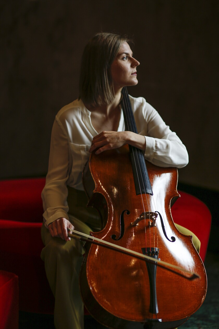 BEVERLY HILLS, CA, SUNDAY, MAY 26, 2019 - Cellist Amanda Gookin will perform at the Wallis Annenberg
