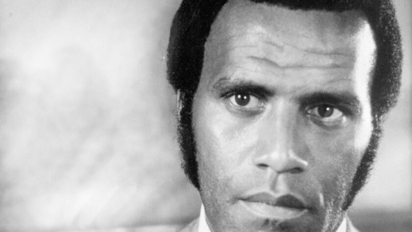 """Fred Williamson starring in the American International Pictures' movie """"Black Caesar."""